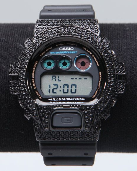 mens g shock by casio dw 6900 swarovski crystals watch urbancart mens g shock by casio dw 6900 swarovski crystals watch urbancart co