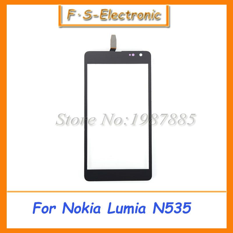 With Logo Ct2s1973fpc A1 E Ct2c1607fpc A1 E For Microsoft Nokia Lumia 535 N535 2s 2c Version Touch Screen Digitizer Glass Touch Panel Glass Panels Touch Screen
