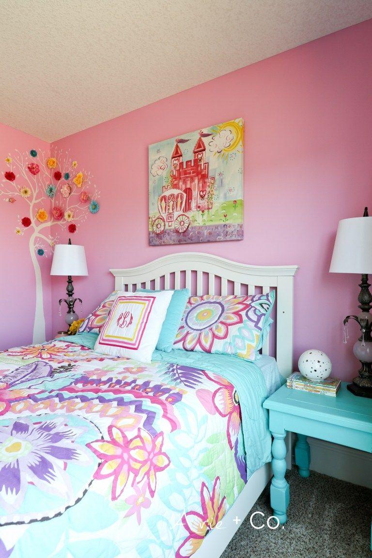 Arabella S Colorful Little Girl Room Pine Bedroom Furniture Bedroom Furniture Bedroom Furniture Sets
