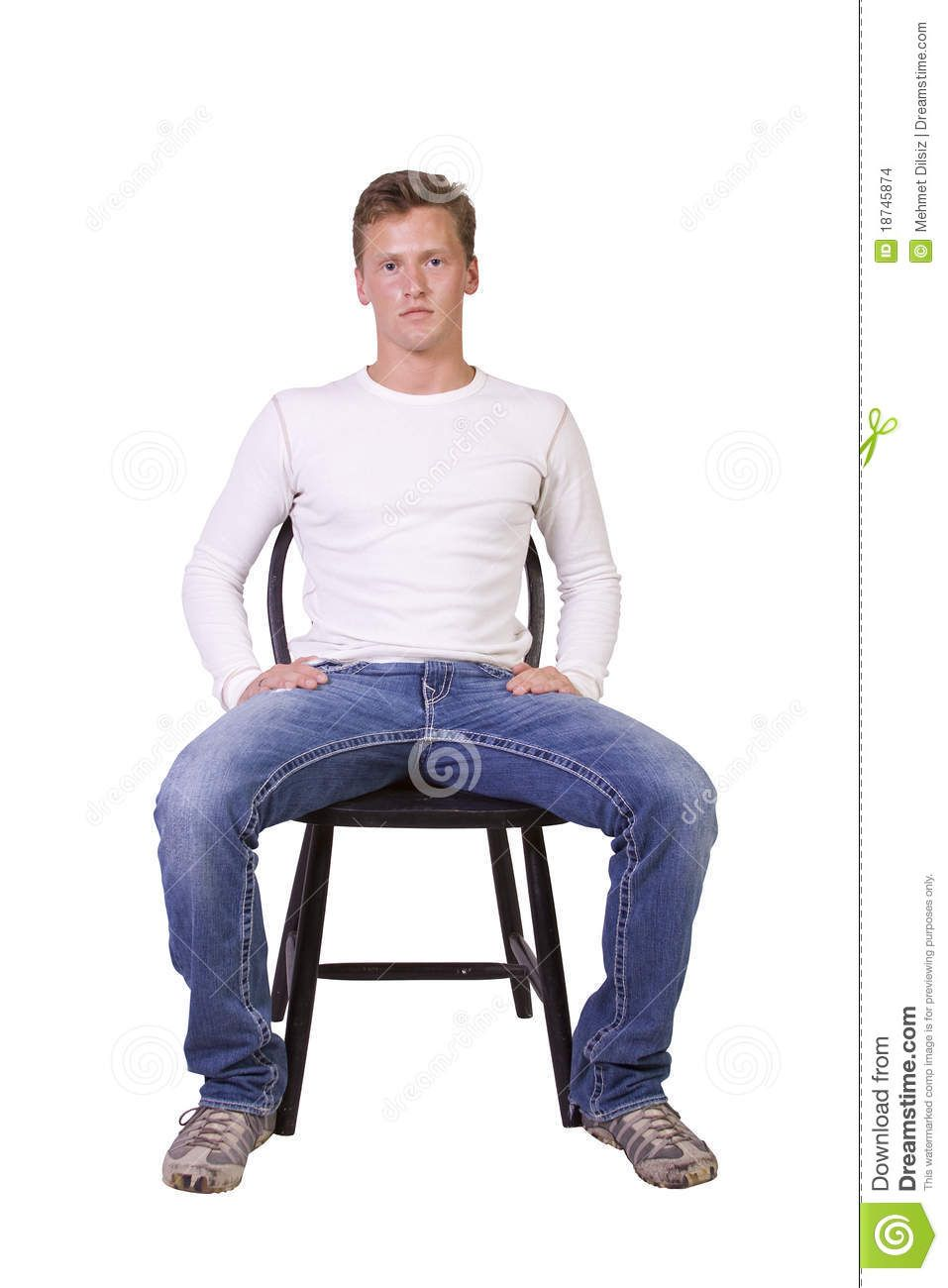 Sitting Man Sitting Man Pants