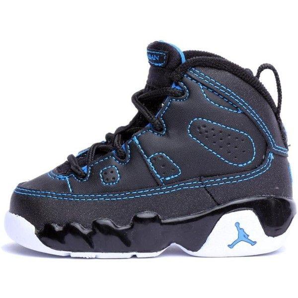 fd689da27899eb Air Jordan 9 Retro (TD) Toddler Sneakers ( 50) ❤ liked on Polyvore ...