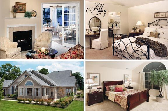 Quarry Lakes At Amherst Gallery Of Homes The Abbey Home New Homes Luxury Ranch