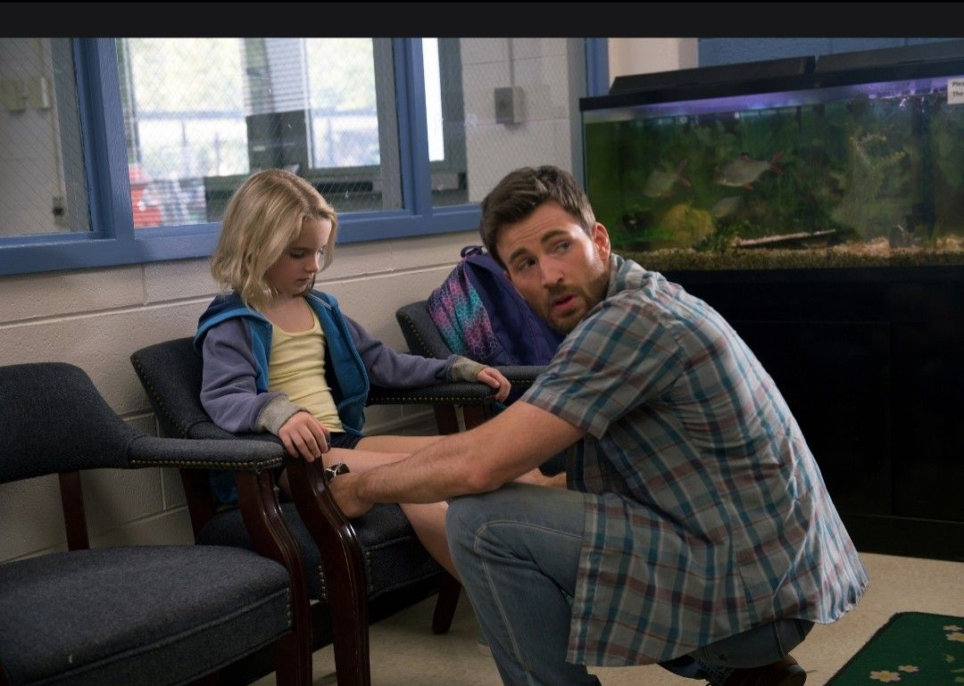 Frank And Mary Adler In Gifted 2017 Chris Evans Chris Evans Captain America Ted Movie