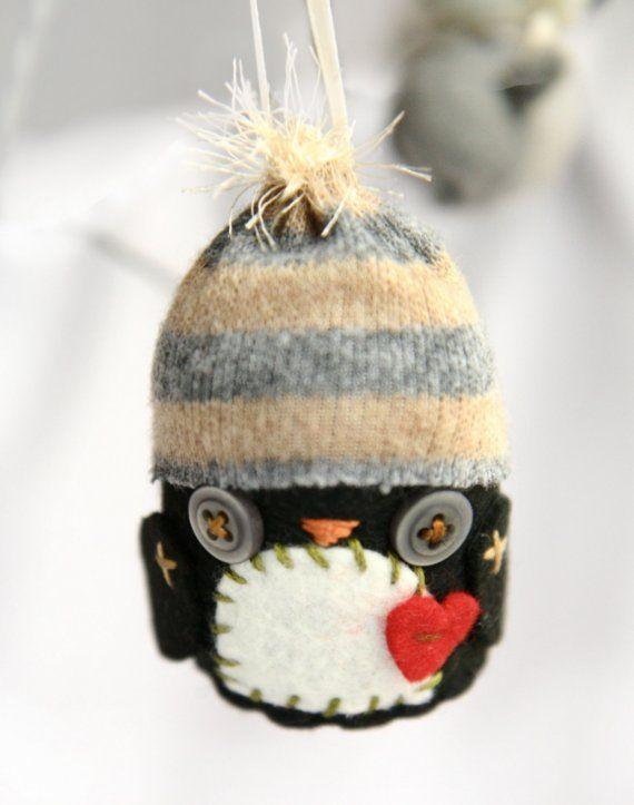 Penguin Snowbuddy Ornament