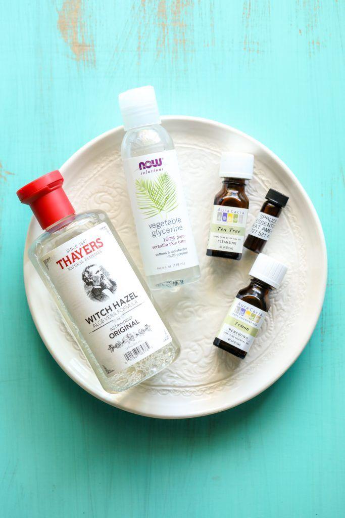 Homemade Hand Sanitizer Spray Kid Friendly Are Essential Oils