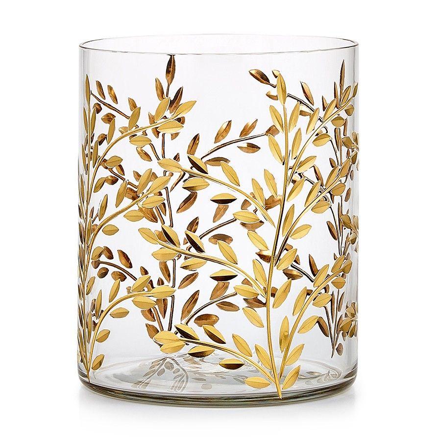 Vine Gold Waste Basket | bathroom accessories | Pinterest | Bath ...
