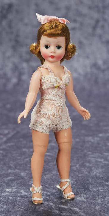 View Catalog Item - Theriault's Antique Doll Auctions Cisette in lingerie