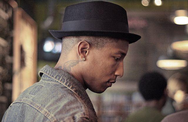 pharrell williams | Pork pie hat, Pharrell, Fedora hat men