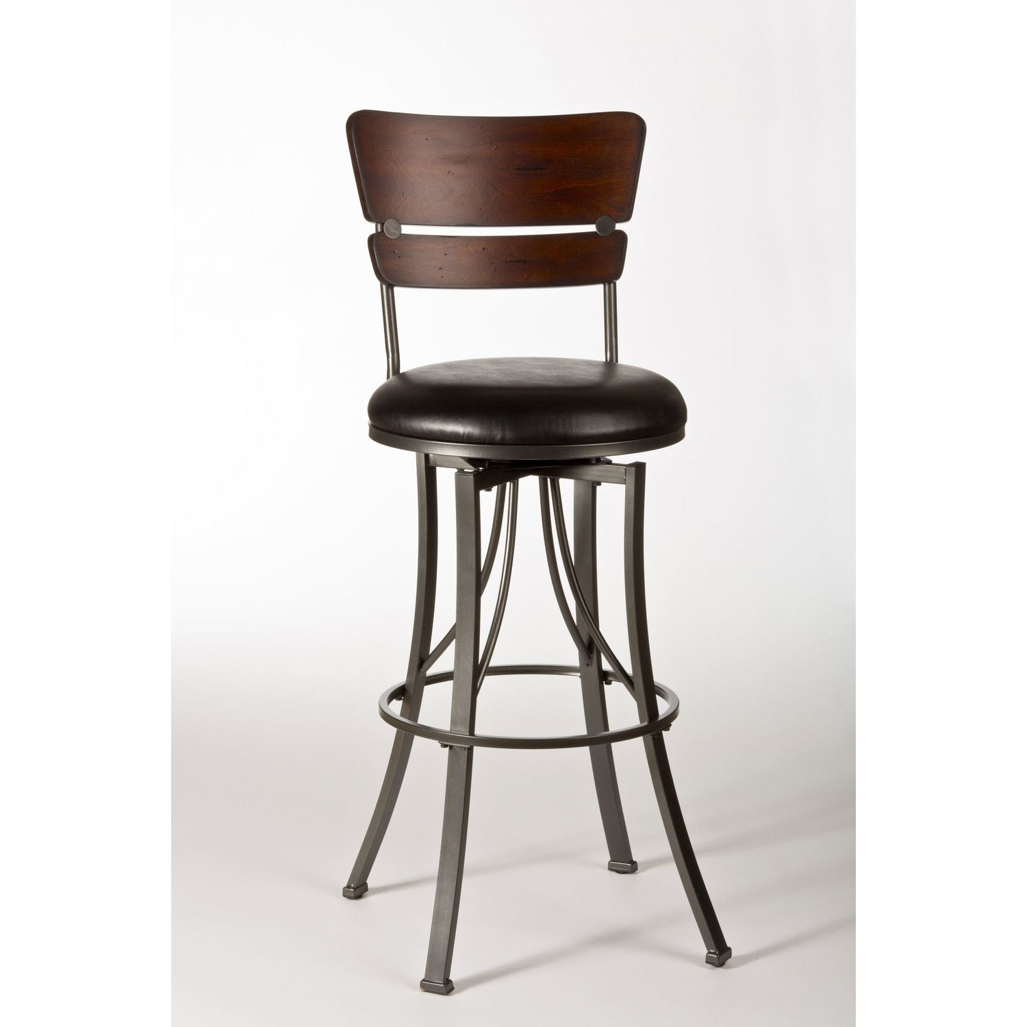 Kitchen Counter Stools with Backs Selection Guide – HomesFeed 9 ...