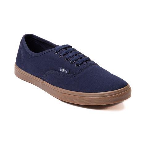 7f506edc95 Shop for Vans Authentic Lo Pro Skate Shoe in Navy Gum at Journeys Shoes.  Shop