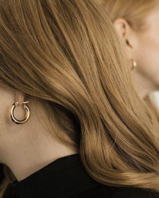 Photo of Freja Hoop Earrings – Medium — Common Muse