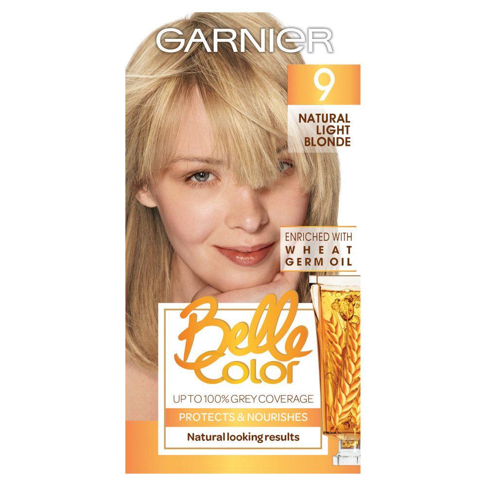 Garnier Belle Colour 9 Natural Light Blonde Hair Dye Light