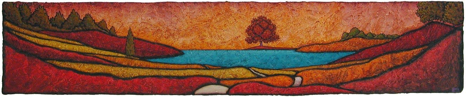 GC Myers, 1959 ~ Stylized Symbolic Landscapes | Tutt'Art@ | Pittura * Scultura * Poesia * Musica |