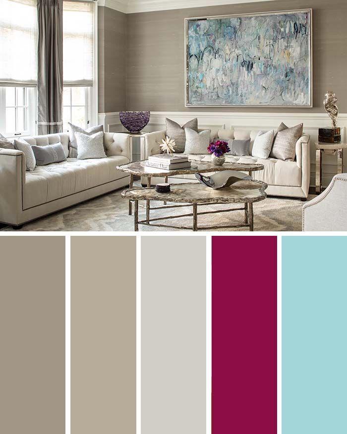 9 Fantastic Living Room Color Schemes
