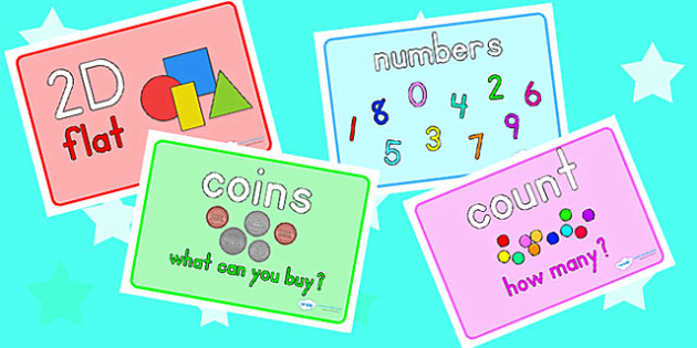 Math Area Display Word Posters | Math | Pinterest | Maths area, Word ...