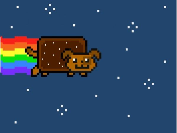 Nyan Dog Nyan Dog By Cheesybananas Create Art Disney Nyan Cat Disney Games Disney Funny