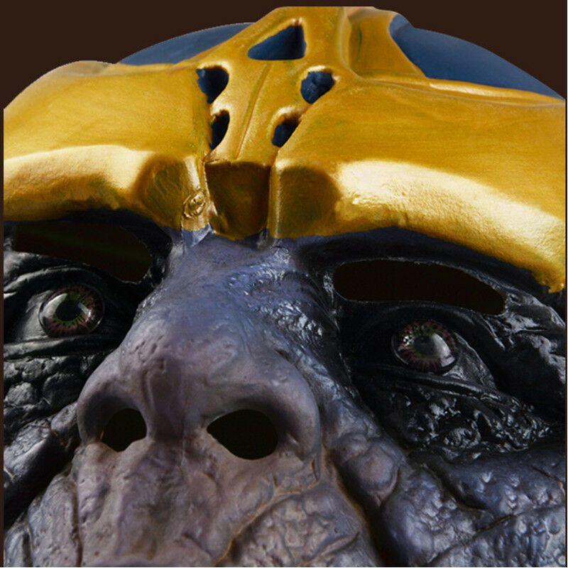 THANOS Latex Mask Avengers Infinity War Full head Latex Halloween Mask Cosplay