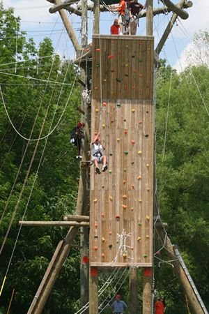 30 Ropes Courses Ziplines And Canopy Tours In Ohio Ropes Course High Ropes Course Backyard Obstacle Course