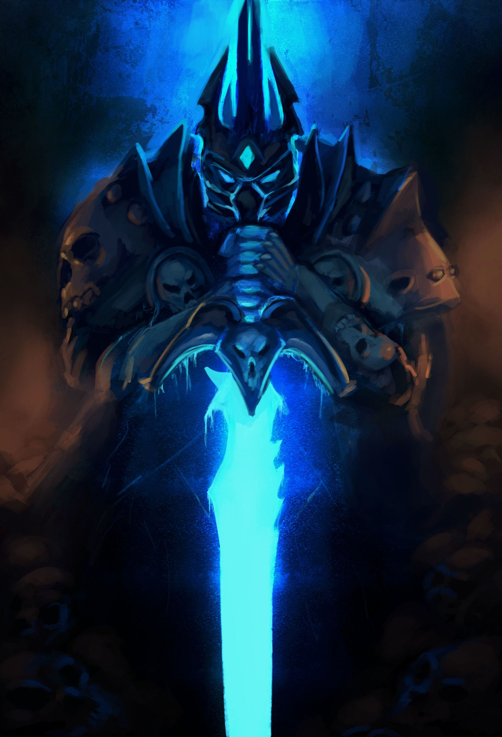 My Lichking Fan Art Worldofwarcraft Blizzard Hearthstone