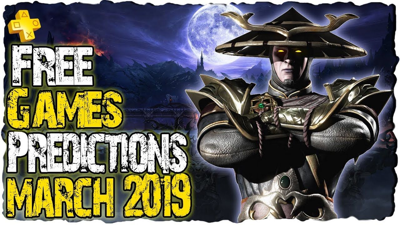 PS PLUS March 2019 - Predictions   PS4 Free Games March ...