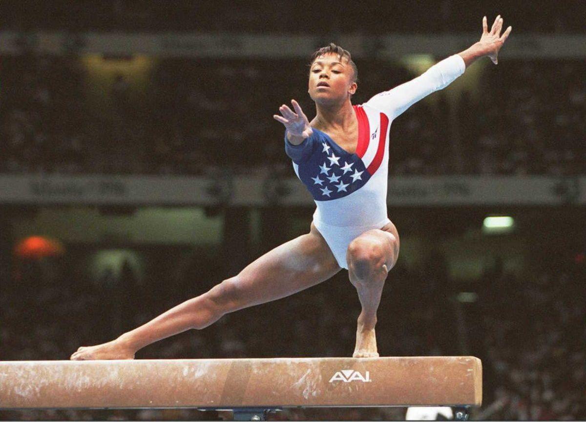Dominique dawes style evolution gymnastics photos