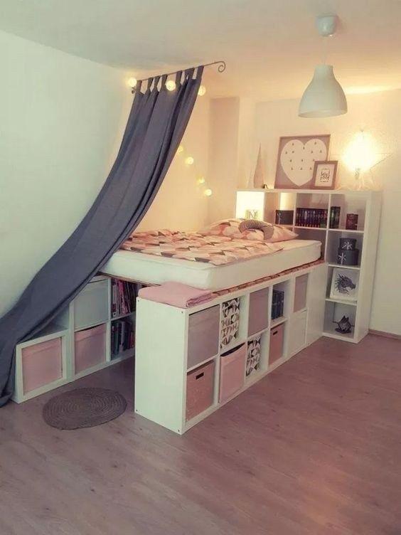 Photo of 24 nydelige ideer om sovesalorganisasjon på et budsjett 06 | maanitech.com # dormroo …
