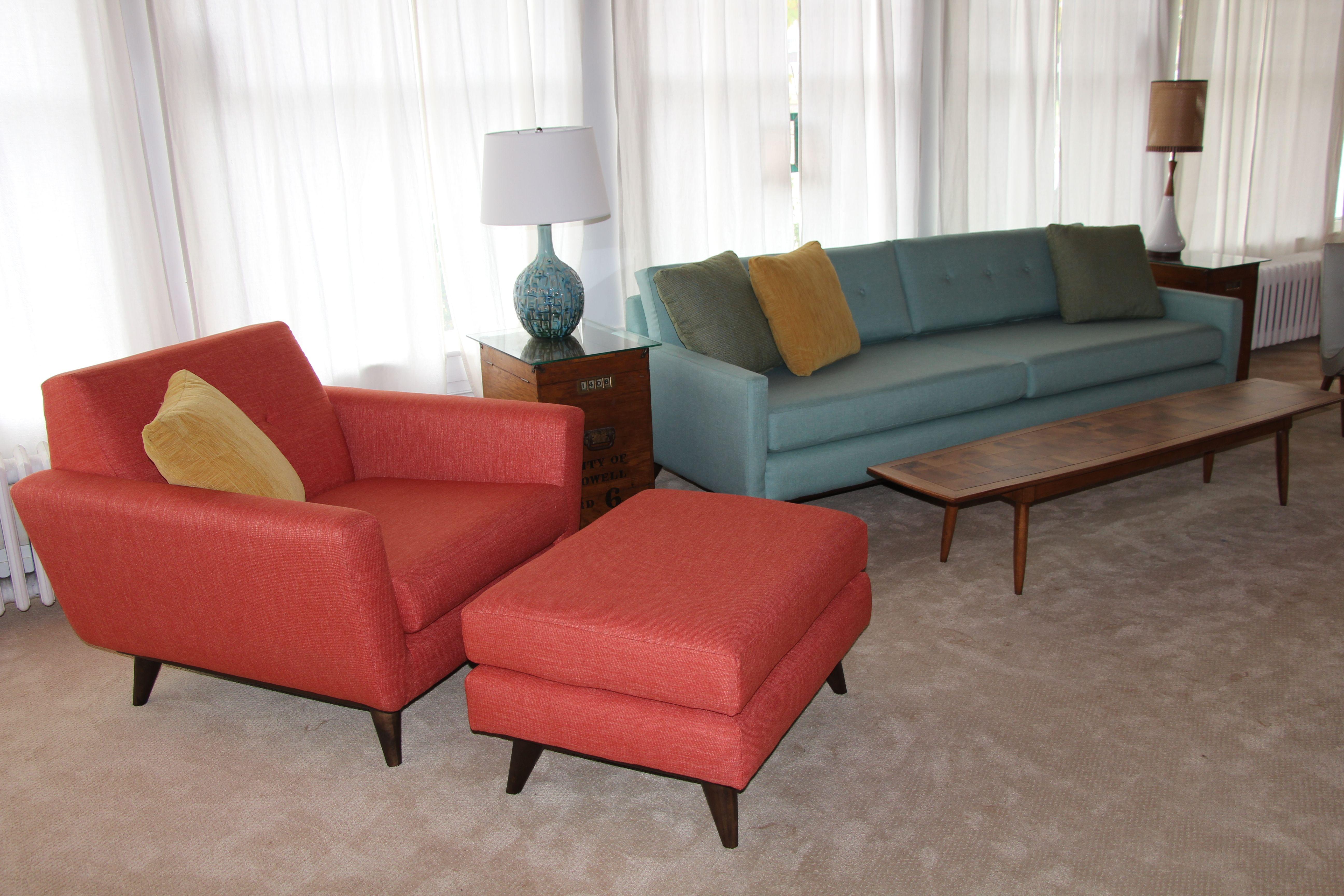Joybird Hughes Ottoman Custom Hughes Chair Custom Hopson Sofa