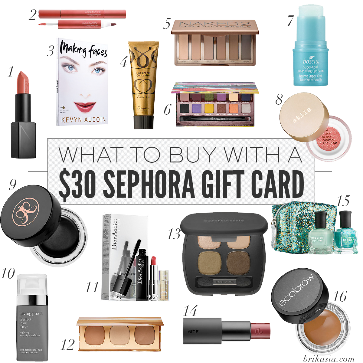 Win a 30 Sephora Gift Card! May Giveaway! Sephora gift