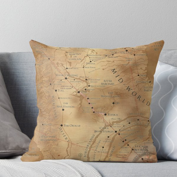 Pin By Richard Wells On Tower In 2020 The Dark Tower Throw Pillows Pillows