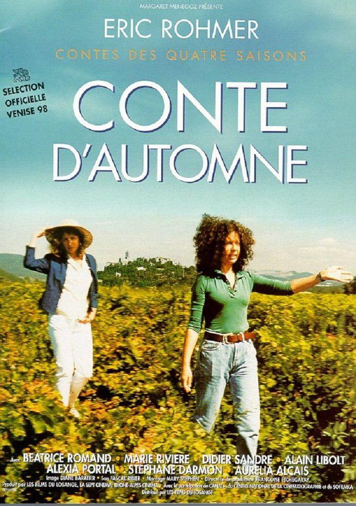 1998 Osella D Or Scenario Eric Rohmer 1998 Prix Sergio Trasatti Eric Rohmer Film Books Autumn Tale French Cinema