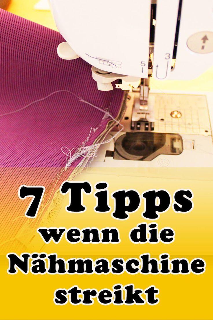 Photo of 7 Tipps, wenn die Nähmaschine streikt Fadensalat, Faden gerissen, Stiche ausgel…