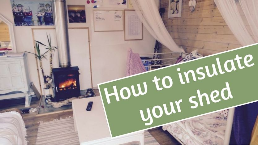 How to insulate your shed insulating pricing materials