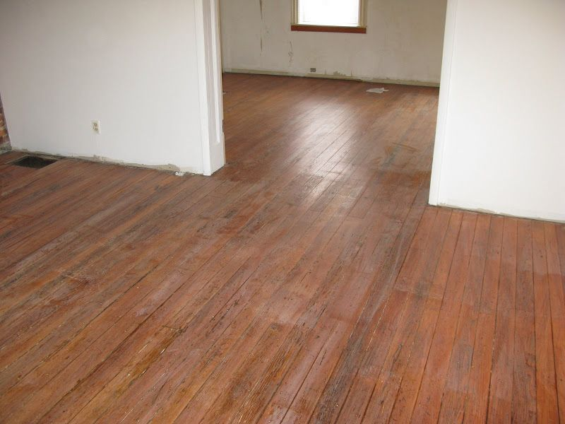 PROJECT ROWHOUSE: wood floor refinishing; cabinet installation