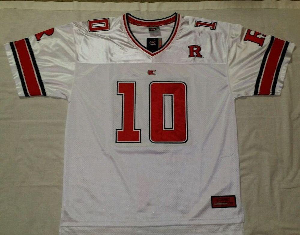 Men S Rutgers 10 Colosseum Athletics Football Jersey Xl Colosseumathletics Jersey Rutgers Jersey Football Jerseys Football