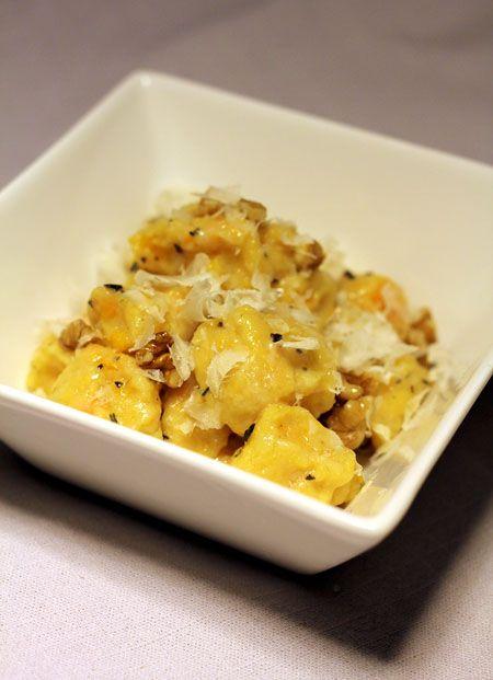 Kürbis-Gnocchi in Rosmarin-Walnuss-Butter   eatbakelove
