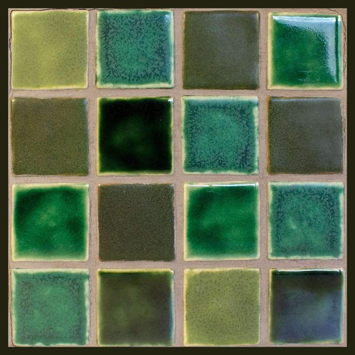 Corktown Blend Pewabic Pottery Unique Tile Tiles