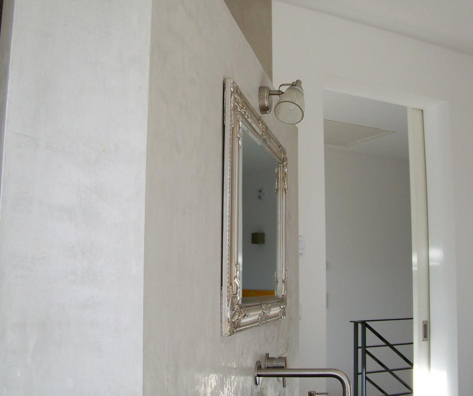 Badezimmer Renovierung Ohne Fliesen   Volimea Wandbeschichtung Fugenlose  Wände Im Bad Gestaltet Von Maler Tommaso Aus