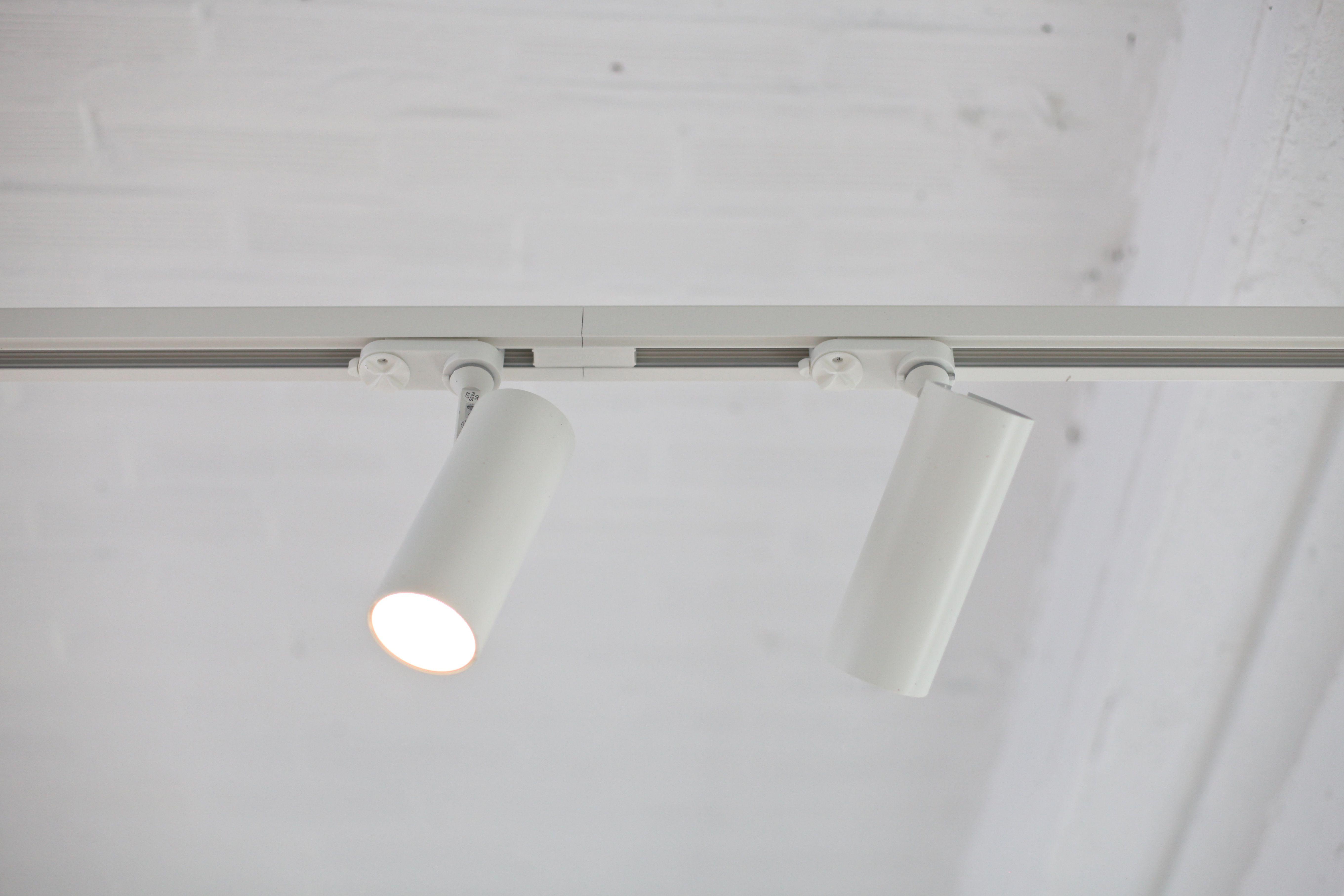 Tuki dark lighting tuki tukiontrack track white for Cool track lighting fixtures