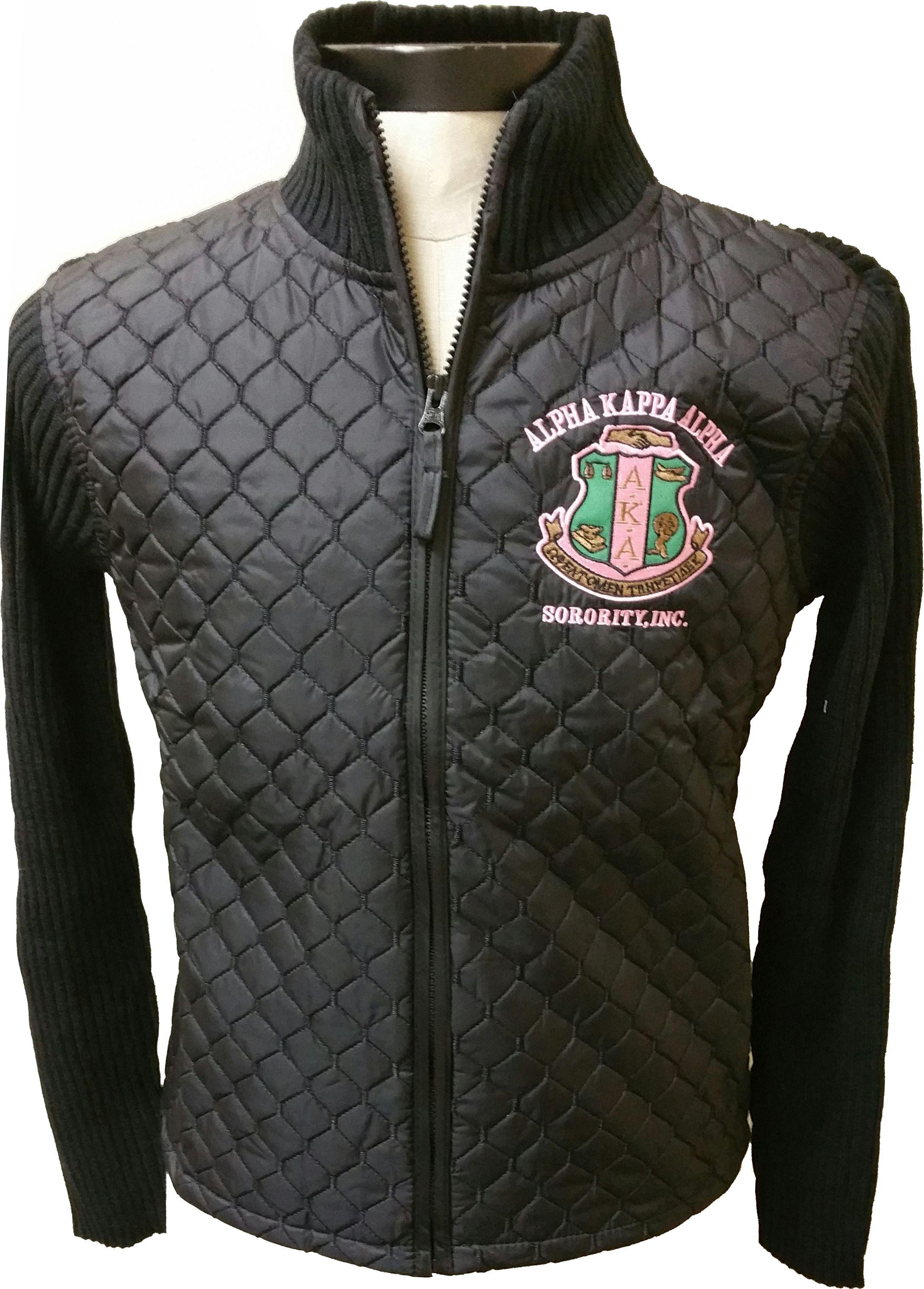 b5d05e337 Buffalo Dallas Alpha Kappa Alpha Ladies Sweater Jacket in 2019 ...