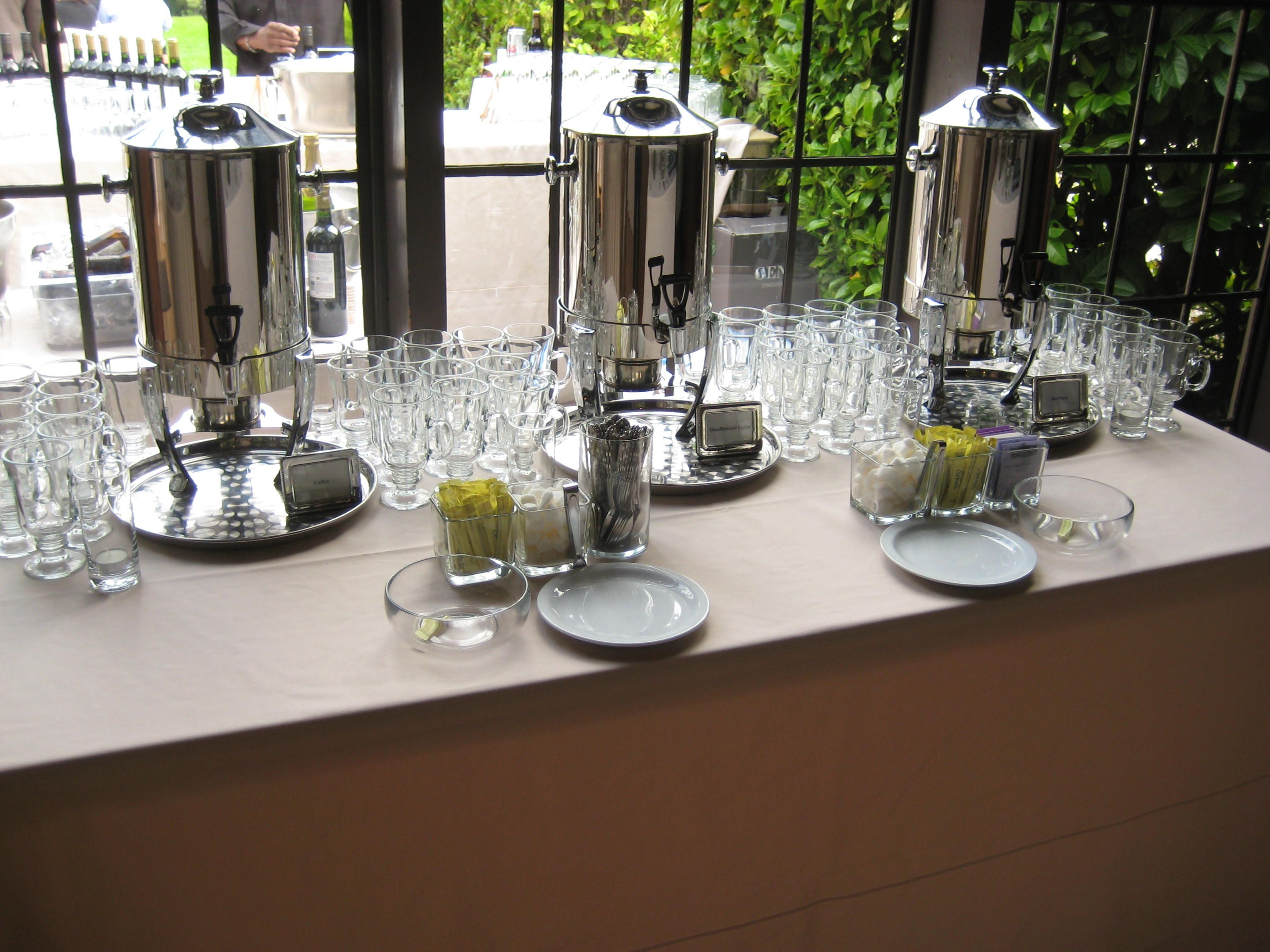Coffee Bar Ideas For Party Coffee Decaf And Hot Tea Station Using Our Irish Coffee