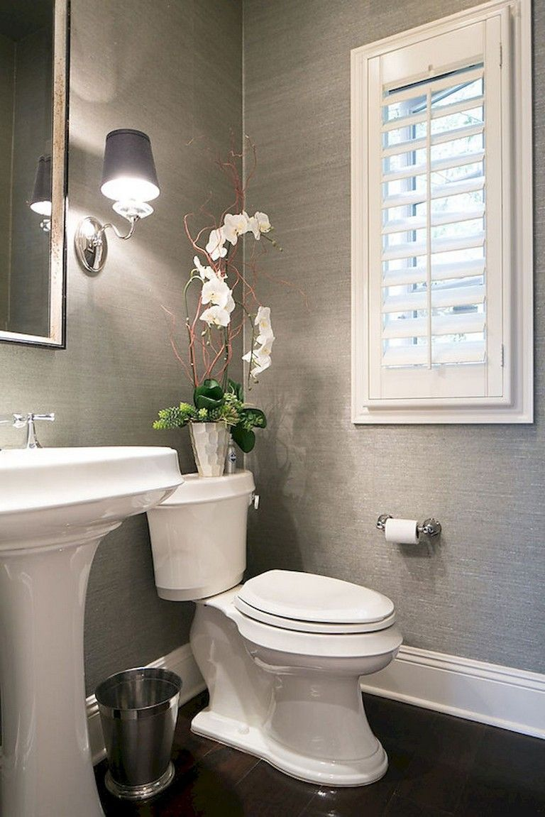 59+ Clean & Modern Powder Room Design Ideas #bathroom #bathroomdesign #bathroomdesignideas #bathroomroomdesign #modernpowderrooms