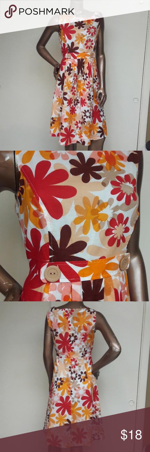 Like New Leap Into Spring Dress By Robbie Bee Brand Robbie