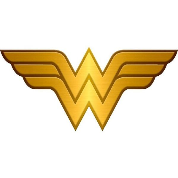gallery for > wonder woman logo png ❤ liked on polyvore featuring