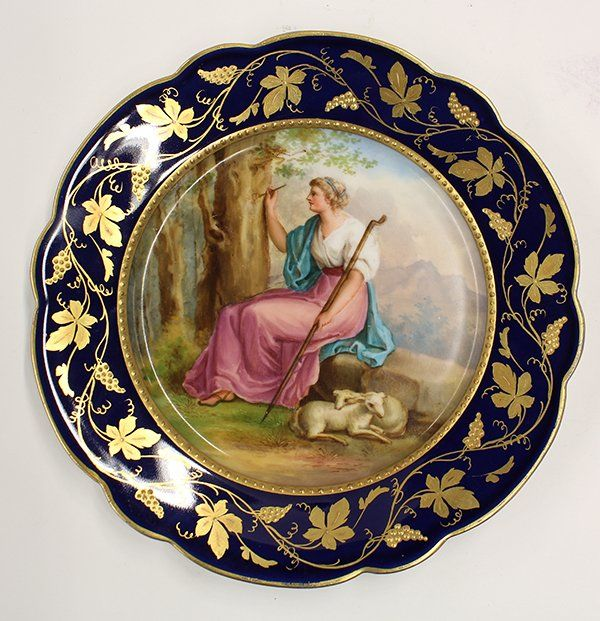 Royal Vienna cabinet plate : Lot 2042