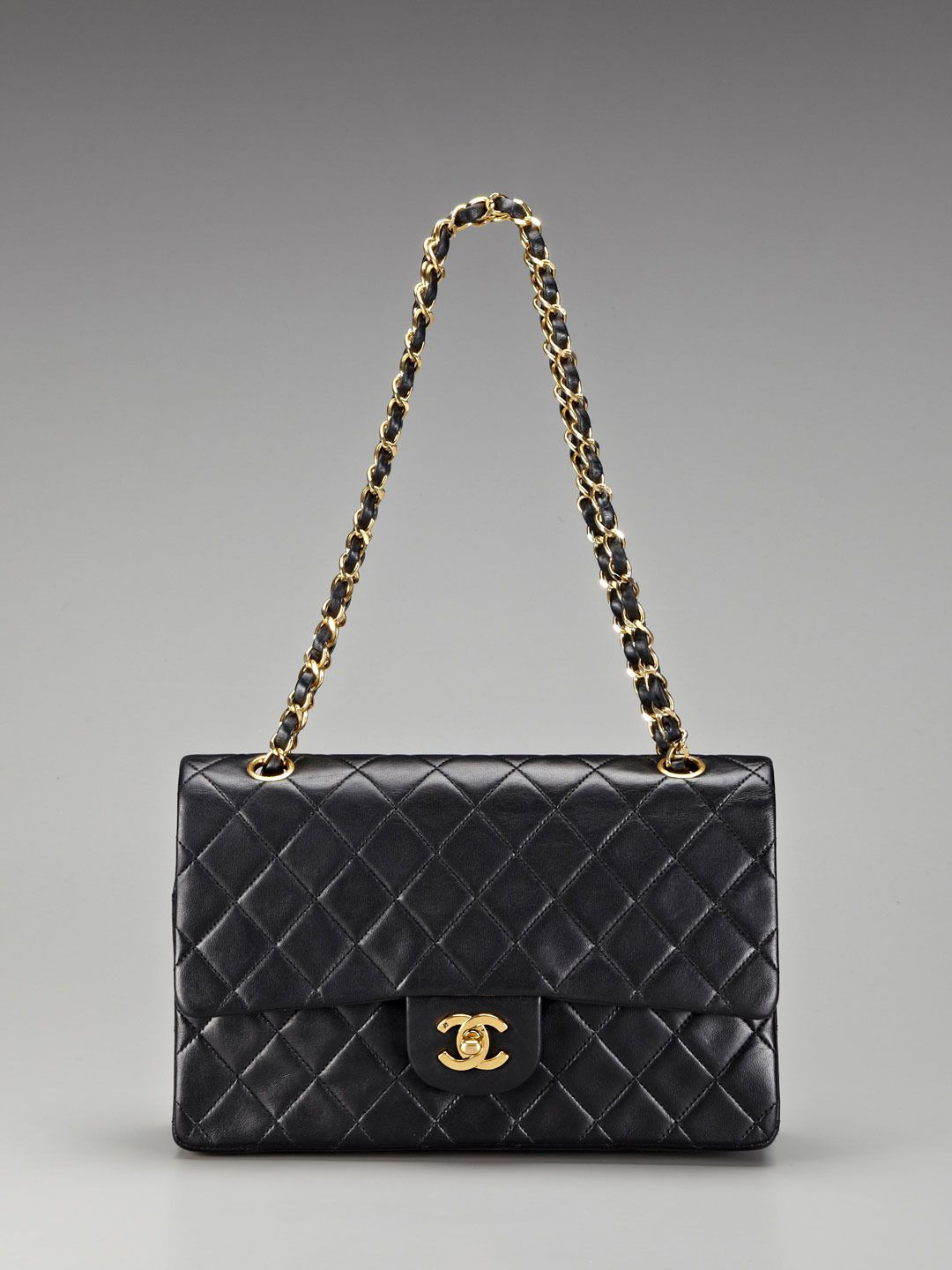 2aef7c200bb0 Vintage Large Classic 2.55 Chanel with the flat lambskin (older vintage ??)