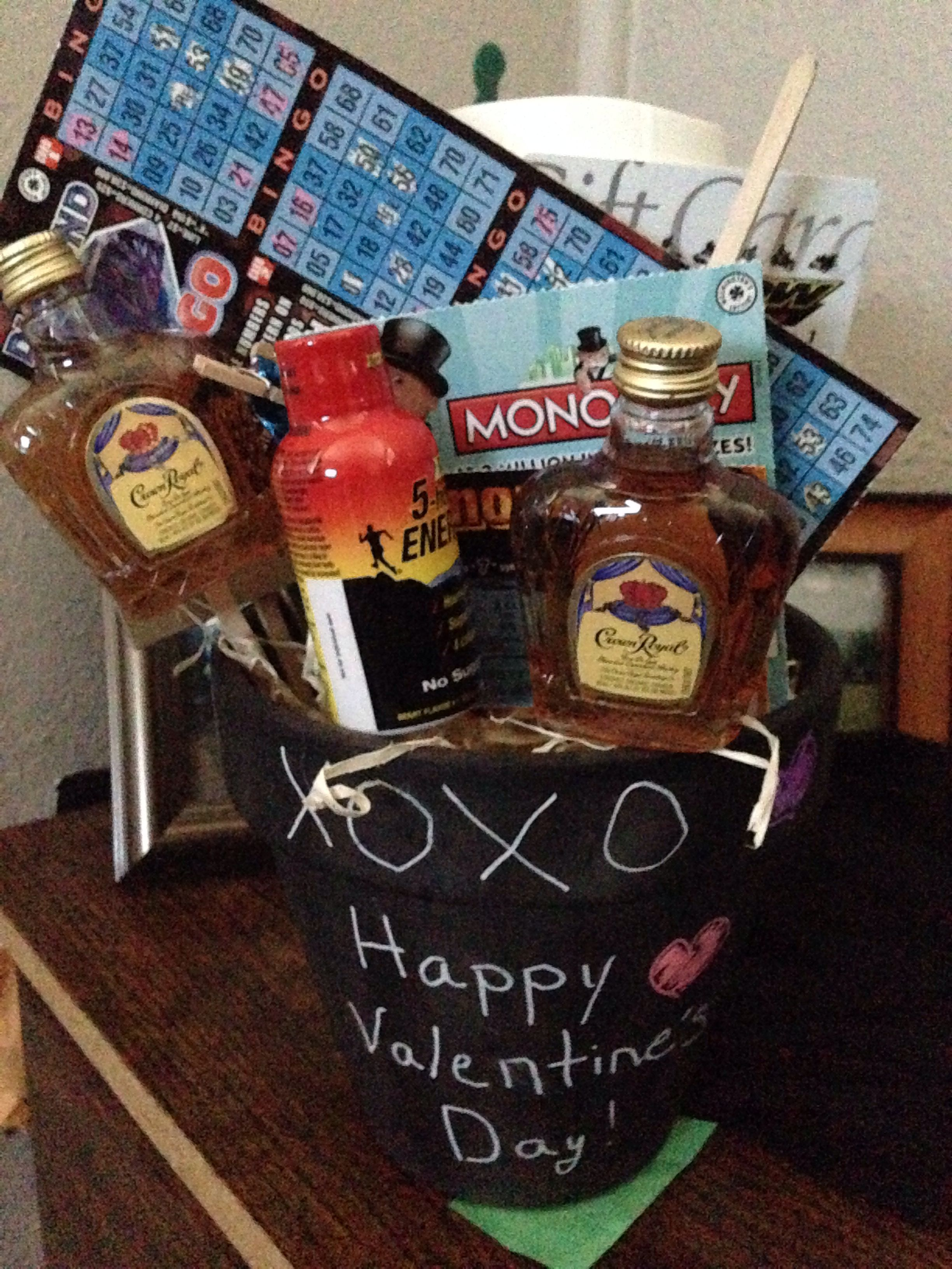 Valentine's Day Bouquet for him...