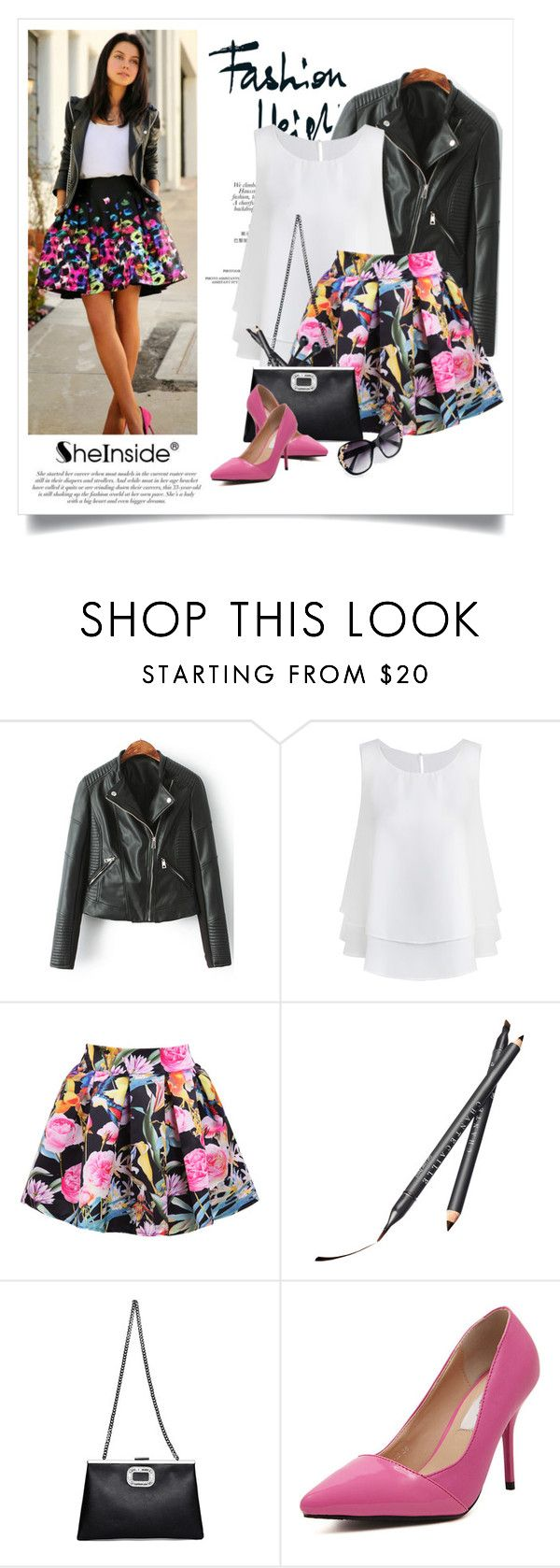 """..."" by yexyka ❤ liked on Polyvore featuring Chantecaille and Sheinside"