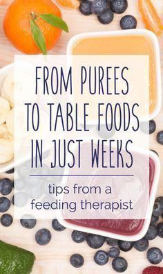 Take Your Baby From Purees To Solids In Just A Few Weeks — CanDo Kiddo