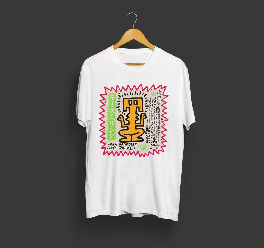 New Paradise Garage Logo Men/'s Black T-Shirt Size S-3XL