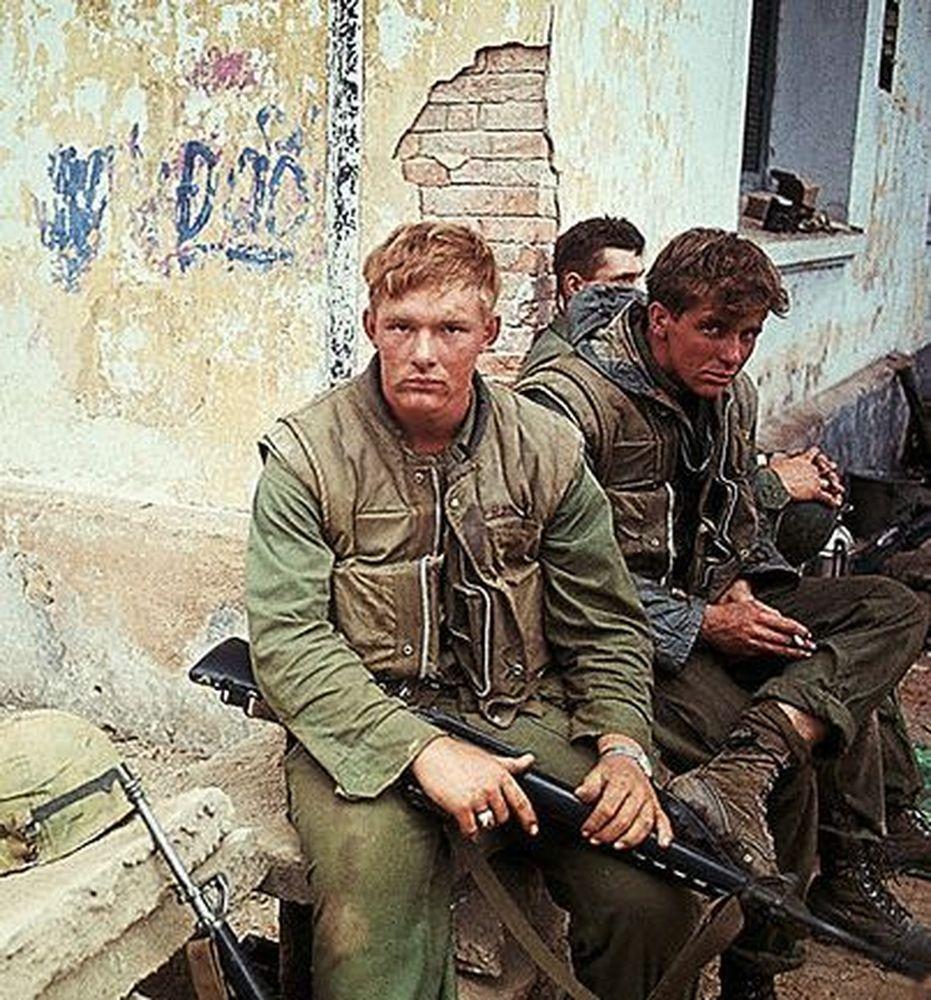 Battle of Đắk Tô, 1967. | Vietnam war | Pinterest